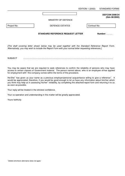 best photos of standard letter of recommendation template