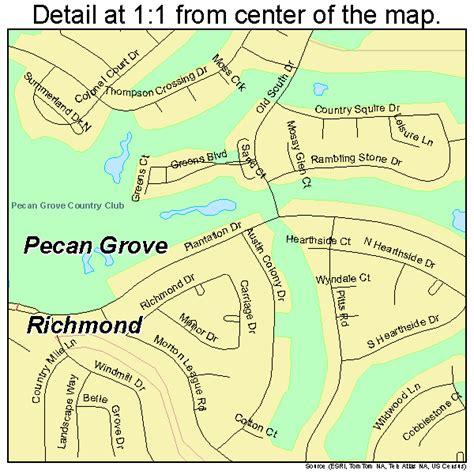 grove texas map pecan grove texas map 4856482