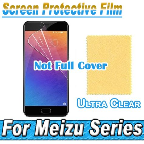 Meizu Pro 7 Pro 7 Plus Soft Clear hd clear screen protector display protective soft for