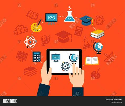 app design qualifications background flat design icons vector photo bigstock