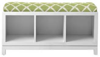 Leather Window Seat Cushions - campaign storage bench contemporary accent and storage benches by serena amp lily