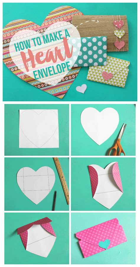 How To Make An Envelope With A Of Paper - shaped envelopes a and a glue gun