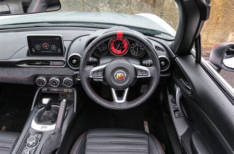 abarth spider review autocar