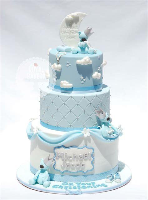 baby boy christening cake cakes i love pinterest