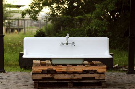 the search for a vintage farmhouse sink domestic