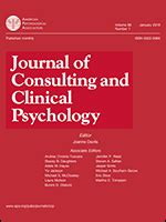 journal  consulting  clinical psychology  publishing