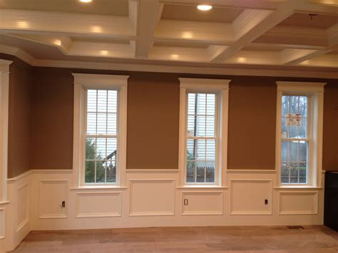 Mission Style Decorating Recess Panel Wainscot Finish Work Pinterest