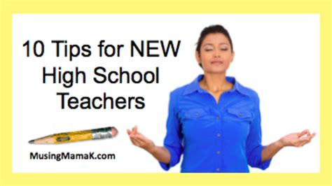 10 Tips For High School Dating by 10 Tips For New High School Teachers The Tpt