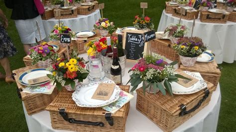 Wedding Gift Ideas Perth by Picnic Hers On Table Wedding Reception Wedding