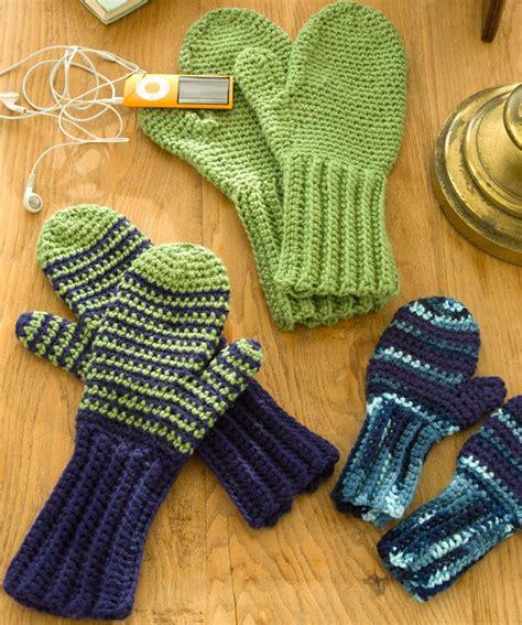 knit pattern heart mittens crochet mitten pattern free red heart teresa restegui