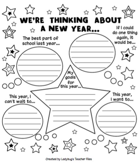 new year writing search results for new year resolution writing worksheets