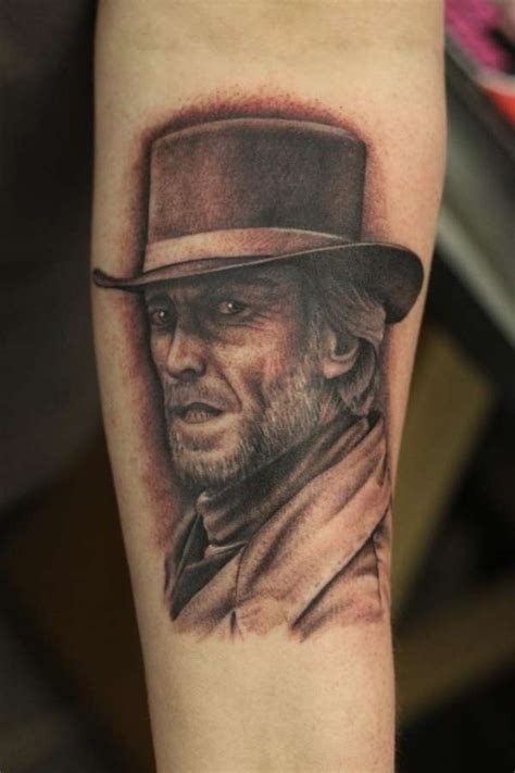 portrait clint eastwood pictures to pin on pinterest