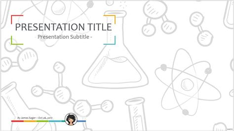 free chemistry powerpoint templates free chemical formula on blackboard powerpoint 25825
