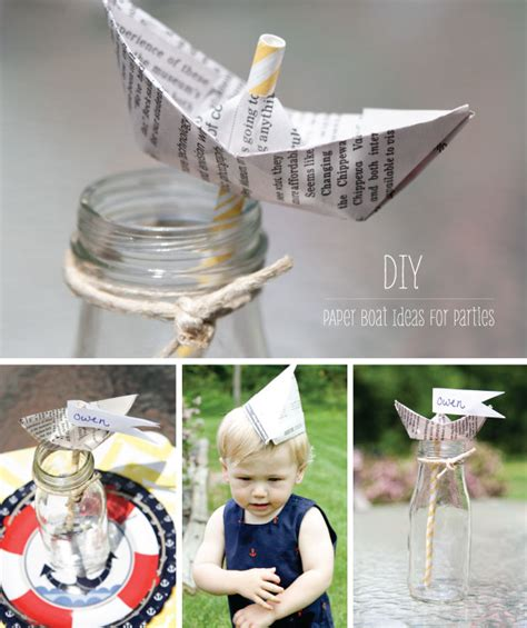 boat anchor ideas how to make a paper boat anchor nautical party ideas