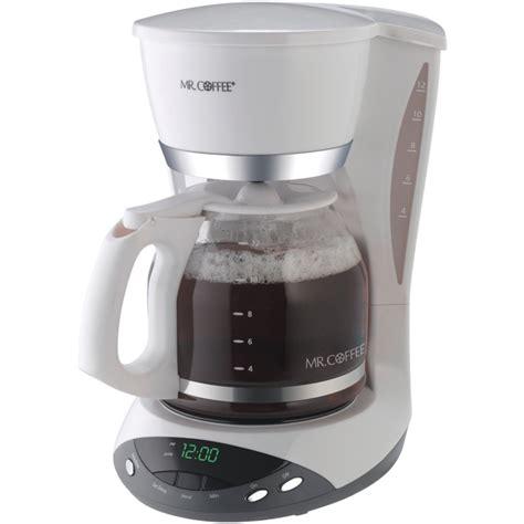 Wholesale / Bulk Dropshipper MR COFFEE DWX20 NP 12 CUP PROGRAMMABLE COFFEE MAKER (WHITE) Distributor