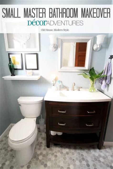 small bathrooms makeover small master bathroom makeover 187 decor adventures