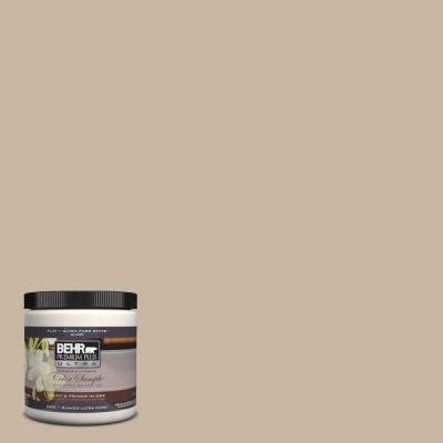 behr premium plus ultra 8 oz home decorators collection creme de caramel interior exterior