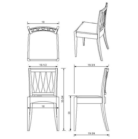 chair side view drawing build chair plan dwg diy pdf how to build wood items