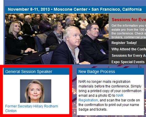 hillary clinton defends her 200 000 speaking fees to pay why is nar paying hillary clinton 200 000 to speak at the