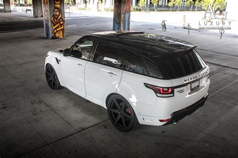 range rover sport black ag luxury wheels range rover sport forged wheels