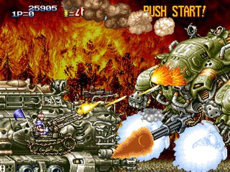 open pixel — development: metal slug
