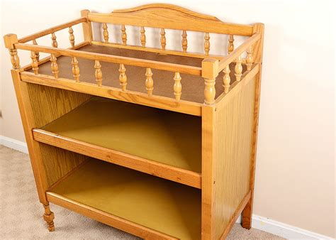 oak changing table oak changing table ebth