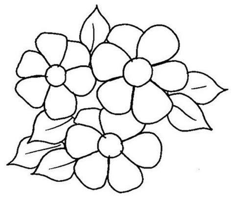 imagenes flores para imprimir moldes de flores para colorir az dibujos para colorear