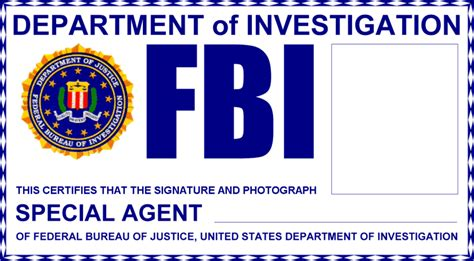 Fbi Badge Template brickshelf gallery x files lego fbi federal buero of