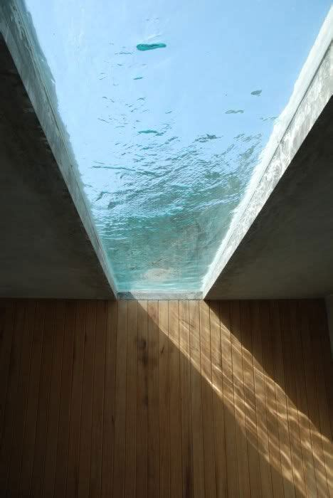 water skylight pool pinterest swimming pools architecture design and modern houses