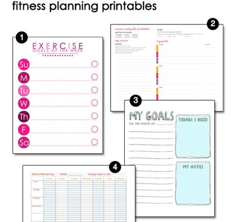 smart weight loss printable planner pinterest the world s catalog of ideas