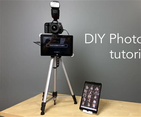 DIY Photo Booth With Live Image Sharing   All