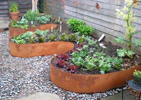 flower bed edging ideas metal flower bed edging