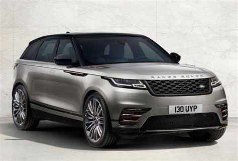 ranger rover rolls out new velar model for 2018 with