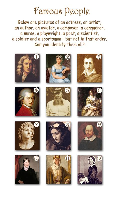 famous people pictures famous people picture quiz