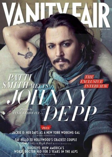 Magazines Like Vanity Fair by Johnny Depp On Vanity Fair January 2011 Cover Sepphoras