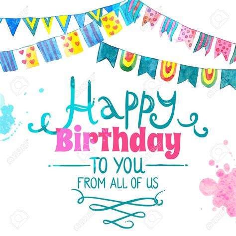 Birthday Wishes From All Of Us Card birthday wishes from all of us card best happy birthday