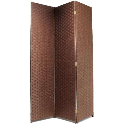 Rattan Room Divider Made Woven Wicker Room Divider Separator Panelprivacy Screen Partition Ebay