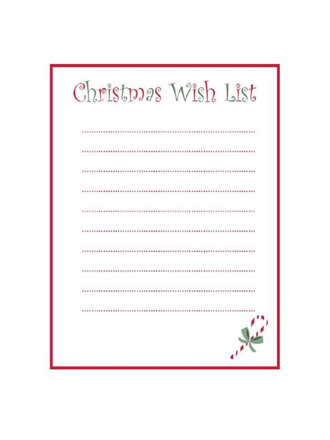 Christmas Wish List Template 8 Free Templates In Pdf Word Excel Download Wish List Template
