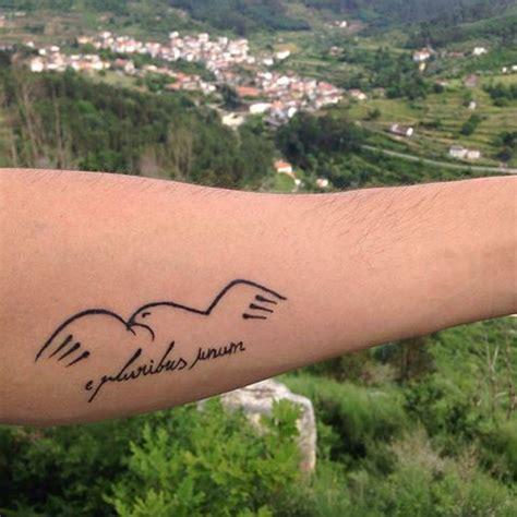 e pluribus unum tattoo e pluribus unum inked tatoo