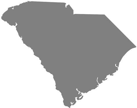 of south carolina colors south carolina map silhouette free vector silhouettes