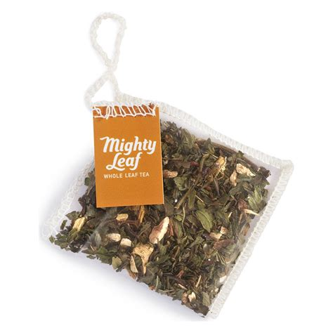 Organic Leaf Detox Tea by Organic Detox Infusion Mighty Leaf Tea