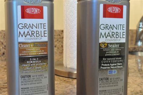 Dupont Granite Marble Countertop Sealer by Dupont Granite Sealer Review The Wine Test One