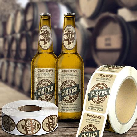 Drink With Label Custom custom food drink labels templates cut sheet labels