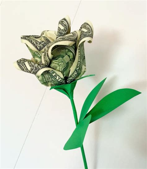 Money Origami Roses - 1000 ideas about money flowers on money