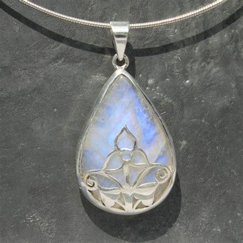 designer filigree moonstone pendant lumina jewellery