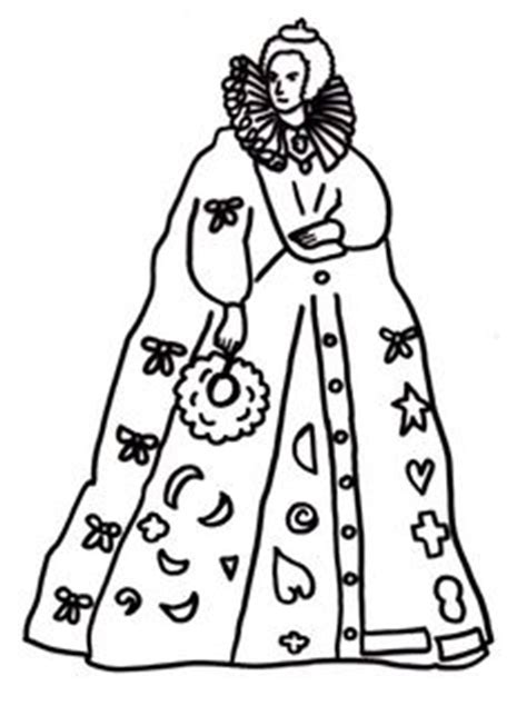 coloring pages queen elizabeth 1 1000 images about historical coloring pages for kids on