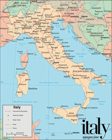 Printable Maps Of Italy | map of italy printable photo