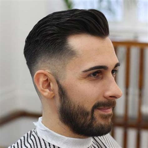 mens crown thinning brush back hairstyles for balding men