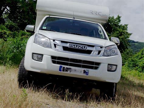 isuzu dmax cabin rrcab cellule de cing 4x4 amovible sur up isuzu dmax