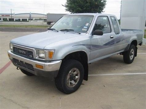 1989 Toyota Sr5 4x4 Sell Used 1989 Toyota Xcab Sr5 3 0l V6 Manual